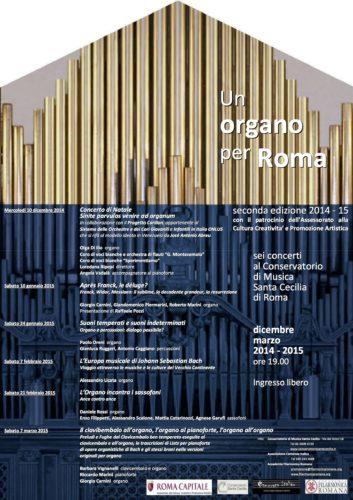 Un organo per Roma