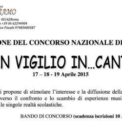 """Concorso Nazionale di Musica """"San Vigilio In...Canto 2015"""""""