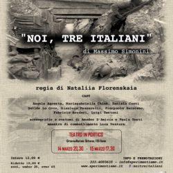 Noi tre italiani - 20150314