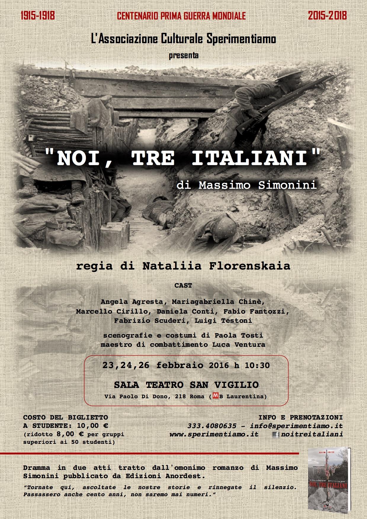Noi tre italiani - 201602