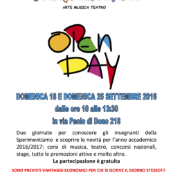 Open Day 201609