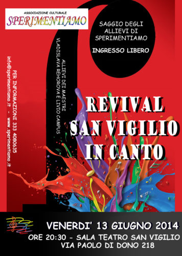 Revival San Vigilio In Canto