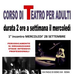 Teatro adulti