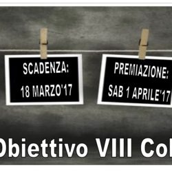 """5° Concorso di Fotografia """"Obiettivo VIII Colle""""  2017"""