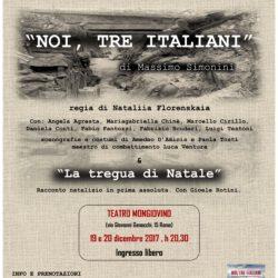 Noi, tre italiani & La tregua di Natale