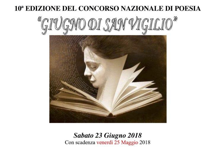 """10° Concorso Nazionale di Poesia """"Giugno di San Vigilio"""" - Premiazione"""